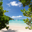 Glorious beach at Anse Marcel on St Martin - Foto Stock