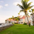 Timeshare apartment hotel in St Martin — Stock Photo