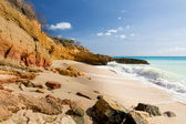 Cupecoy Beach Sint Maarten — Stock Photo