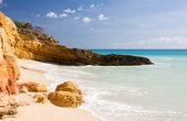 Cupecoy beach sint maarten — Stockfoto