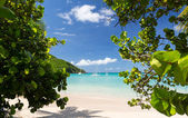Glorious beach at Anse Marcel on St Martin — Stock Photo