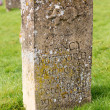 Stock Photo: Gravestone for Nancy Mitford author