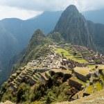 Machu Picchu in the Cusco region of Peru — Stock Photo #16919233