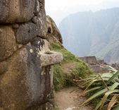 Machu picchu in der region cusco peru — Stockfoto