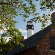 Cape Florida lighthouse in Bill Baggs — Stockfoto