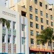 Cavalier hotel in Miami Beach art deco — Stock Photo