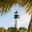 Cape Florida lighthouse in Bill Baggs — Стоковая фотография