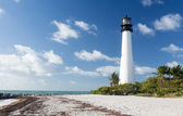 Cape Florida lighthouse in Bill Baggs — ストック写真