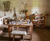 традиционная кухня в миссии в калифорнии — Стоковое фото