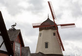 Faux windmill in Solvang CA — ストック写真