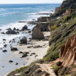 El Matador State Beach California - Stock Photo