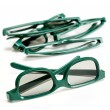 Pair of 3-d glasses for movies cinema — 图库照片