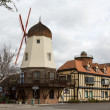 Faux windmill in Solvang CA — Stock Photo