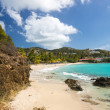 Beach scene St Thomas USVI — Stock Photo