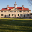 Stock Photo: George Washington house Mount Vernon