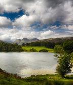 Loughrigg Tarn in Lake District — Stok fotoğraf
