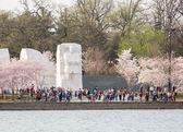 Martin Luther King Monument Washington DC — Stock Photo