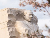 Martin Luther King Monument Washington DC — Stock Photo