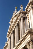 St Pauls Cathedral Church London England — Stock Photo