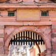 Gateway into old town of Heidelberg Germany — Stock Photo #26544045
