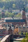 Gateway into old town of Heidelberg Germany — Stock Photo