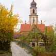 Church St Johannis or Johannes in Castell Germany — Stock Photo