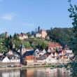 Stock Photo: Town of Hirschhorn Hesse Germany