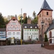 Town of Hirschhorn Hesse Germany — 图库照片