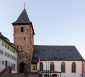 Town of Hirschhorn Hesse Germany — Stock Photo