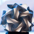 Unusual paper folded lampshade — Stock Photo #27796529