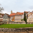 Panorama of Schwabisch Hall Germany — Stock Photo
