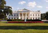White House Washington DC — Stock Photo