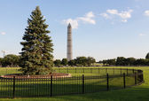National Christmas Tree and Monument — Stock Photo