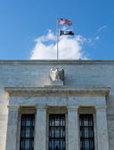Federal Reserve building HQ Washington DC — Stock Photo