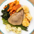 Traditional english sunday lunch — Stock Photo #30354151
