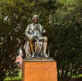 Statue Thomas Jefferson at UVA — Stock Photo