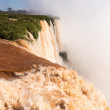 Waterfall at Iguassu Falls — 图库照片