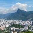 Stock Photo: Harbor and skyline of Rio de Janeiro Brazil