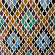 Pattern of arabic tiling or mosaic — Stock Photo #31370343