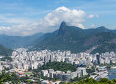 Harbor and skyline of Rio de Janeiro Brazil — Stock Photo