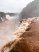 Waterfall at Iguassu Falls — Stock Photo