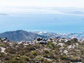 Tavolo montagna cape town, sud africa — Foto Stock