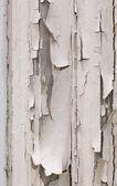 Peeling white paint on window frame — Stock Photo