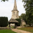 Old church in Cotswold district of England — Stock Photo