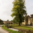 Old houses in Cotswold district of England — Stock Photo