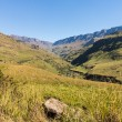 Sani pass to Lesotho — Stock Photo #34404055