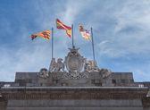 Town Hall or Casa de la Ciutat Barcelona — Stock Photo