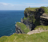 Headland at Cliffs of Moher — Stock fotografie