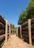 Army trenches at Anzac Cove Gallipoli — Stock Photo