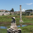 Stock Photo: Ancient ruins of Temple of Artemis
